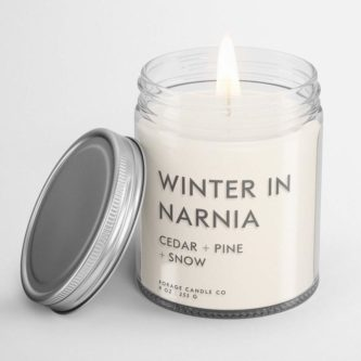 Winter In Narnia Candle