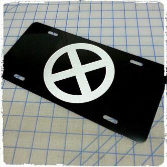 X-Men License Plate