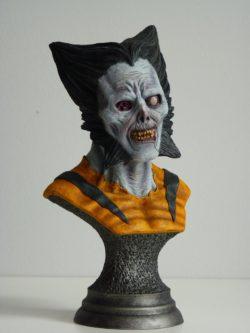 Zombie Wolverine Bust