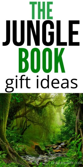 The Jungle Book gift ideas | The Jungle Book Gifts | Gift Ideas for The Jungle Book Fans | Jungle Book Fans Gift Ideas | Ideas for Jungle Book Fans | #thejunglebook #disneyfangifts #disney #gifts #inspiration