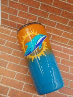 dolphins tumbler