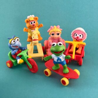Muppet Babies happy meal toys collectible gift idea