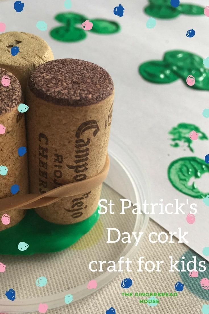 Cork craft for kids