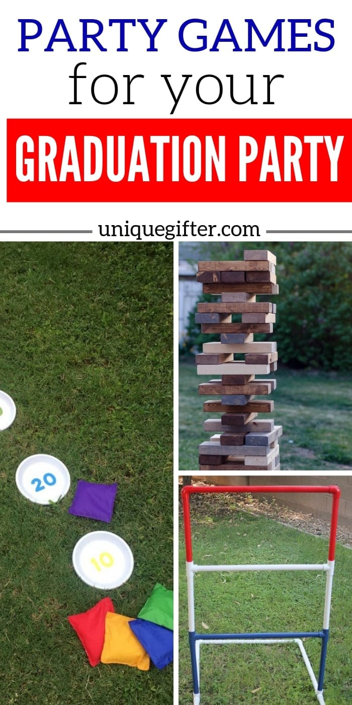 Best Party Games for Your Graduation Party | Graduation Party Party Planning | Games For Graduation Party | #graduation #games #party #planning #uniquegifter