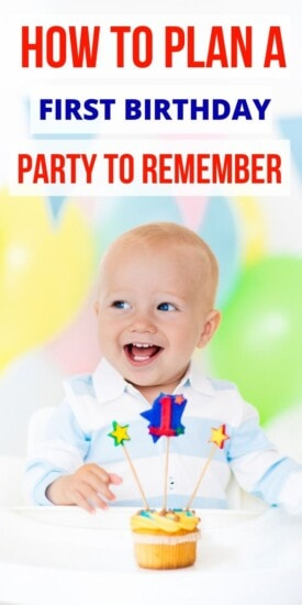 How to Plan a First Birthday Party | Birthday Parties | First Birthday Party | Celebrating First Birthday | Party Planning | #party #partyplanning #first #birthday #easy #uniquegifter