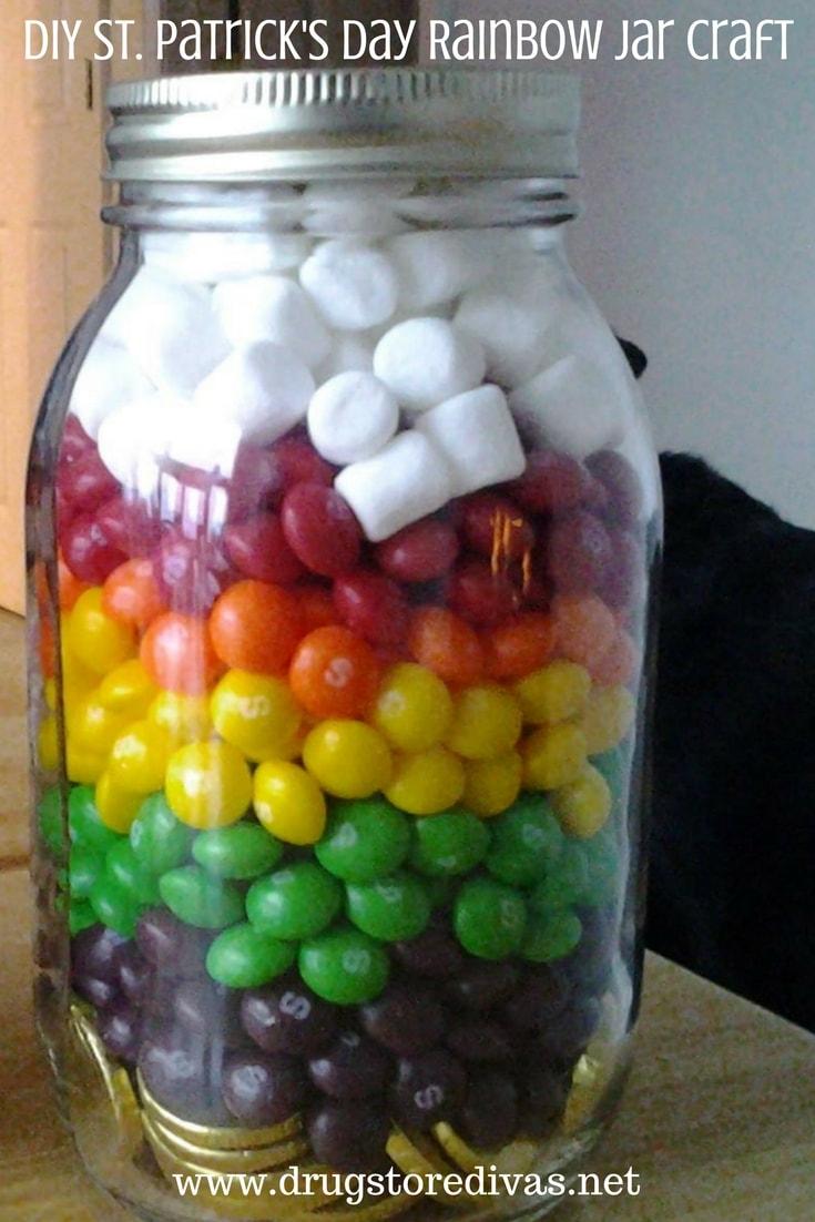 DIY Rainbow Jar Craft