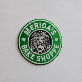 """""""Merida's Bake Shoppe"""" Embroidered Patch"""