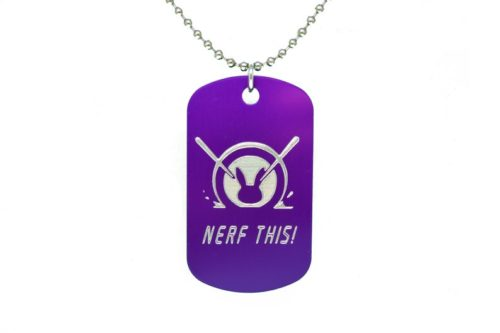 Nerf This D.Va Dog tag apparel gift idea for gamers