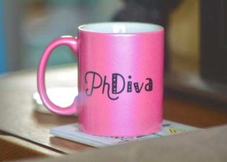 """PhDiva"" Mug"