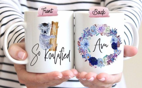 """So koalafied"" Mug"