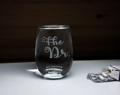 """The Dr."" Wine Glass"