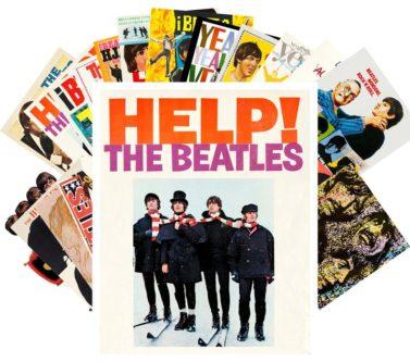 24pcs The Beatles Postcards