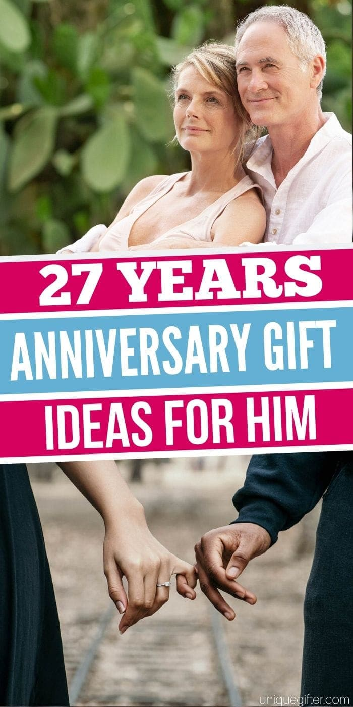 Best 27 Year Anniversary Gift Ideas for Him | Anniversary Gifts For Your Hubby | Gifts For Your Husband | Creative Anniversary Presents | Creative Gifts For Your Hubby | #anniversary #gifts #giftguide #husband #forhim #uniquegifter