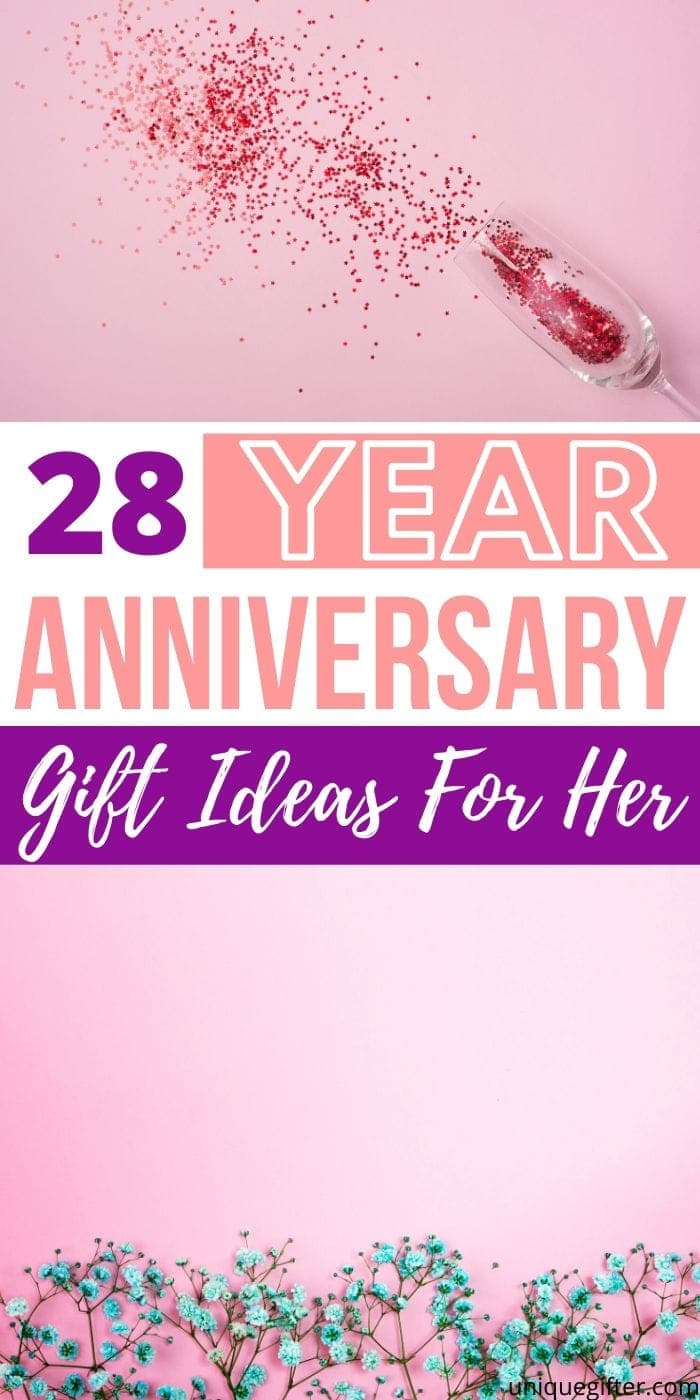 Best 28 Year Anniversary Gifts Ideas For Her | Anniversary Gifts For Your Wife | Presents For Your Wife | Anniversary Presents | Creative Gifts For Her | #anniversary #gifts #giftguide #presents #wife #forher #uniquegifter