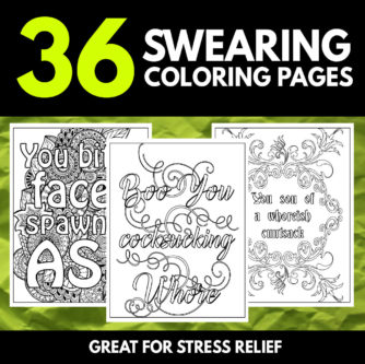 The Best Swear Word Coloring Books Unique Gifter