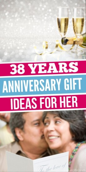 Best 38 Year Anniversary Gift Idea for Her | Anniversary Gifts For Her | Creative Gifts For Your Wife | 38th Anniversary Gifts | #gifts #giftguide #presents #38th #anniversary #uniquegifter