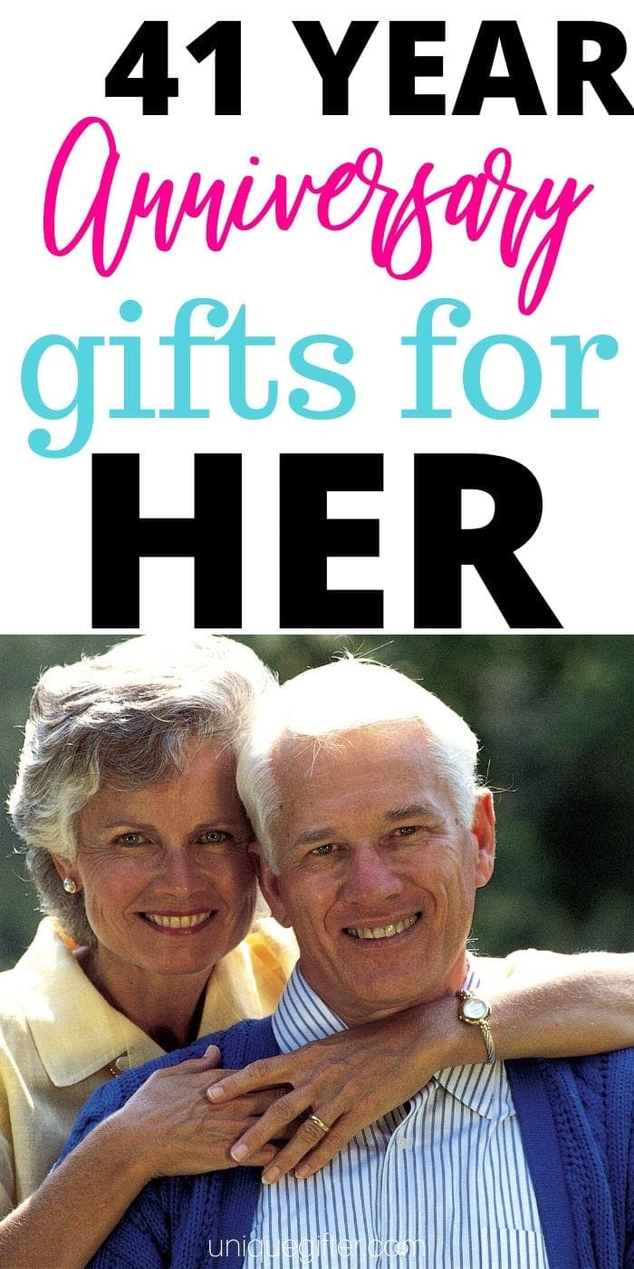 Best 41 Year Gift Ideas for Her | Anniversary Gifts For Your Wife | Beautiful Gifts For Her | Gifts For Your Wife | 41st Anniversary Gifts | #gifts #giftguide #presents #anniversary #easy #her #wife #uniquegifter
