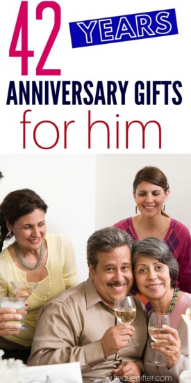 Best 42 Year Anniversary Gift Idea for Him | Husband Gifts For 42nd Anniversary | Give Your Husband A Great Gift For 42nd Anniversary | #gifts #giftguide #presents #anniversary #marriage #uniquegifter