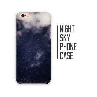 a night sky phone case