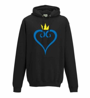 kingdom hearts logo hoodie