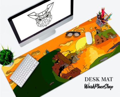 adventure time desk map