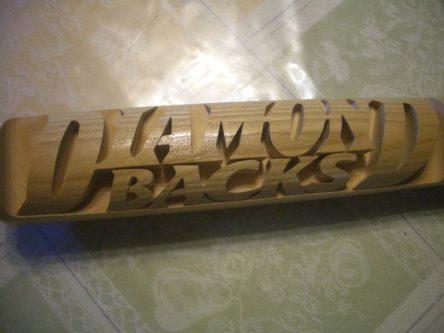 Arizona Diamondbacks '98 Carved Baseball Bat