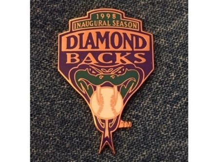 Arizona Diamondbacks Lapel Pin 1998