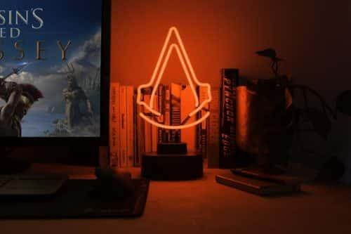 Assassin's Creed Logo Bent Glass Neon Light