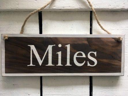 Bedroom Sign