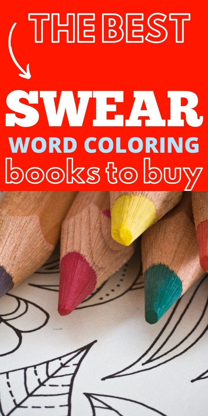 The Best Swear Word Coloring Books | Swear Word Coloring Books | Creative Coloring Books For Adults | Adult Coloring Books | #gifts #giftguide #colors #swearword #cussing #adult #uniquegifter