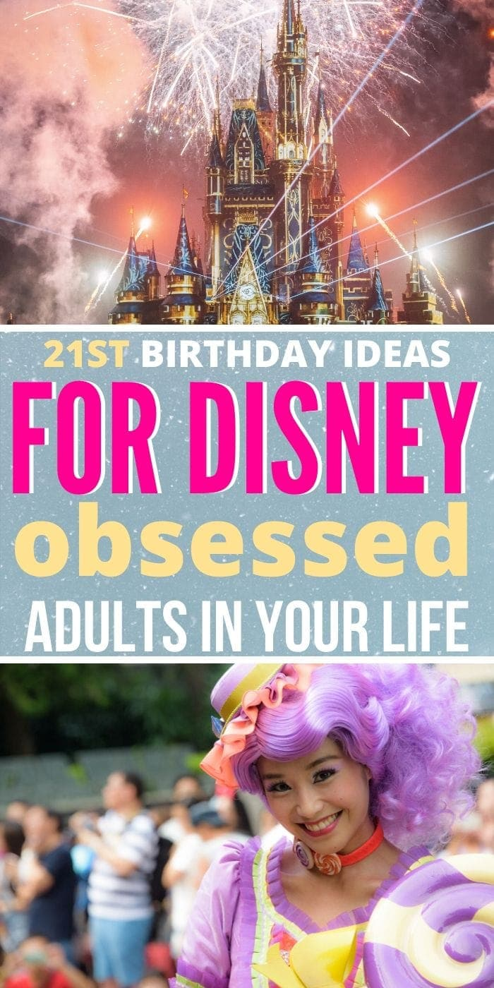 Birthday Gifts for the Disney-Obsessed Adult in Your Life PIN