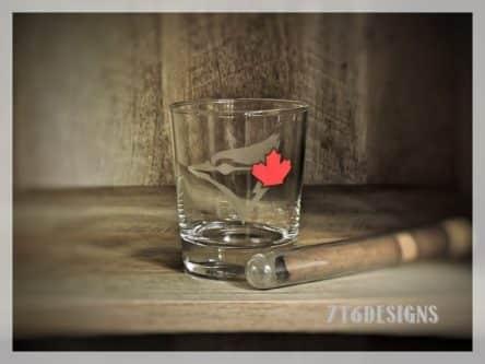 Blue Jays Drinking Glass