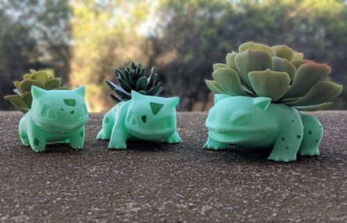 Bulbasaur/Ivysaur/Venusaur Planter Set