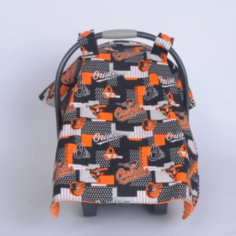 car seat canopy baltimore orioles
