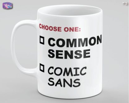 Comic Sans Mug