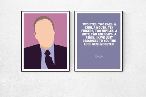 Creed Bratton Minimal TV Poster