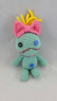 Crocheted Scrump Doll