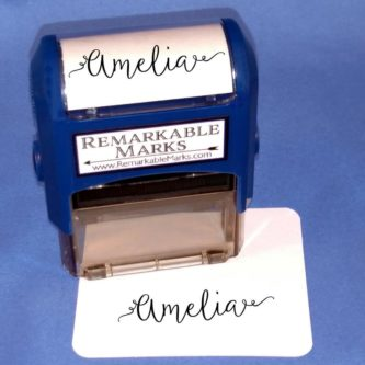 Custom Name Stamp