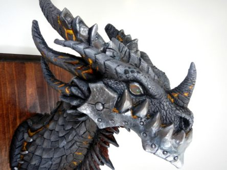 Deathwing's Head Wall Trophy