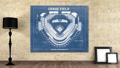 Diamondbacks Chase Field Blueprint