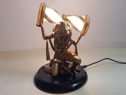 Divinity Statue Lamp