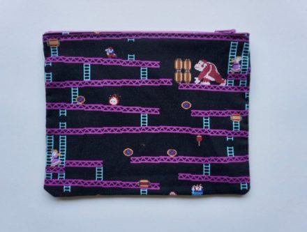 Donkey Kong bag design nerd gift