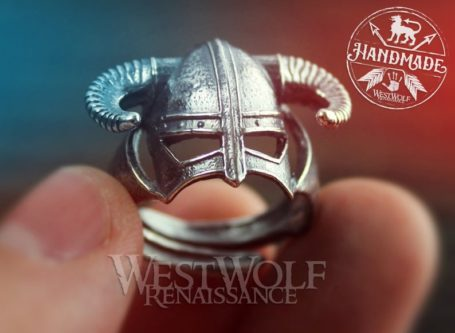 custom made dragonborn ring