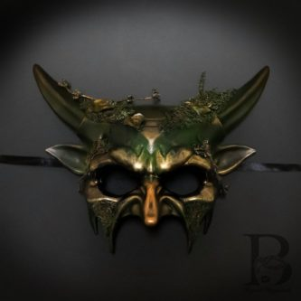 Enchanted Forest Masquerade Mask
