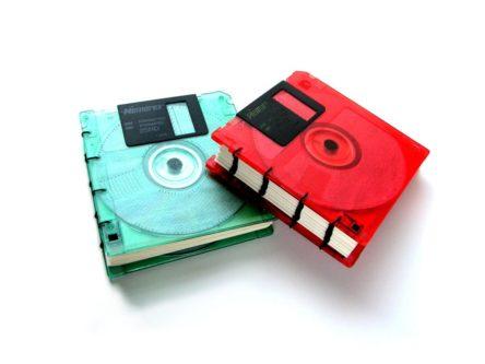 floppy disk notebook geeky & nerdy stocking stuffer ideas