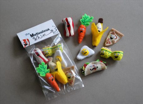 Food magnets funny stocking stuffer ideas for adults