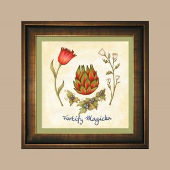 Magicka botany wall art decor picture Gift Ideas for Skyrim Fans
