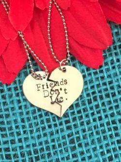Friends Don't Lie BFF Necklaces
