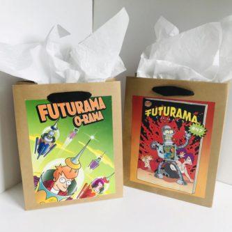 Futurama Comic Gift Bags