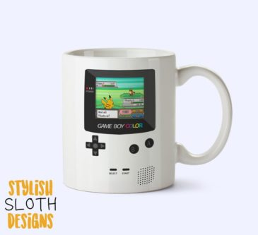 Gameboy Color Pokemon Coffee Mug